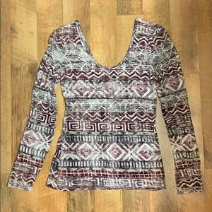 BKE Printed Top